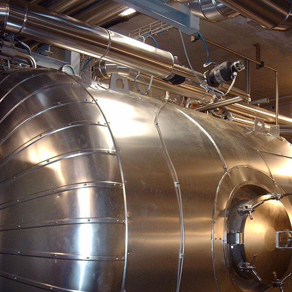 Agroalimentaire Calorifuge équipement en laine minérale et tôle aluminium…